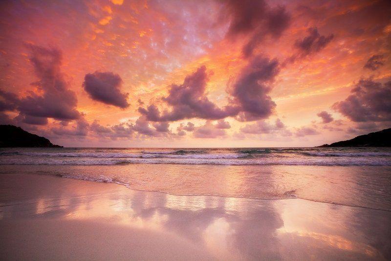 утро, панган, тайланд, благодать Тайское утроphoto preview