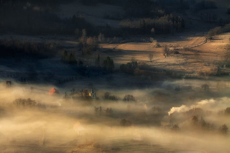 landscape,canon,mist,light,autumn Time Moves On...photo preview