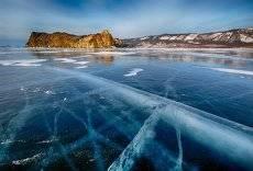 Такой разный лёд Байкала