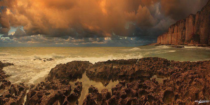 франция Оранжевые дожди Океанаphoto preview