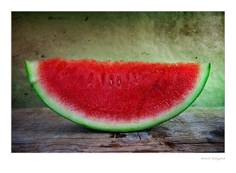 натюрморт, арбуз, срез, красный, спелый, зеленый, сочный, аппетитный Арбузикphoto preview