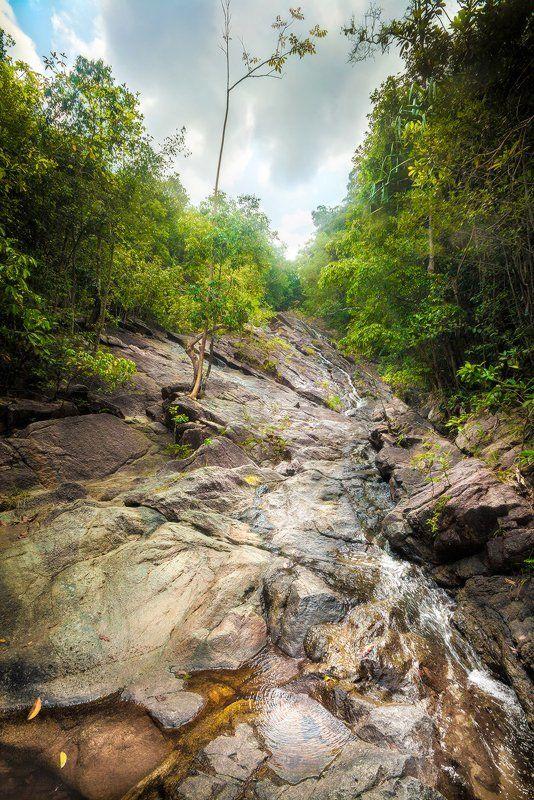 водопад, phaeng, панган, тайланд Водопадphoto preview