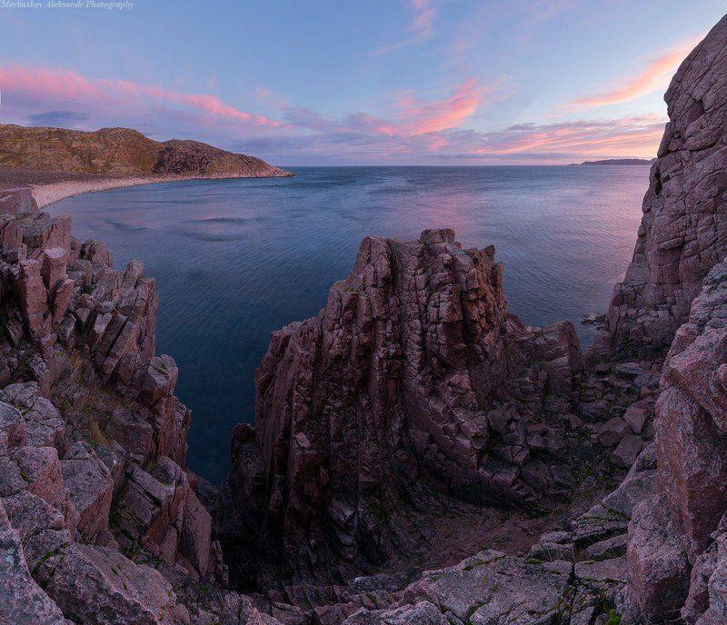 рассвет, природа, заполярье, баренцево море, териберка Рассвет на краю земли.photo preview