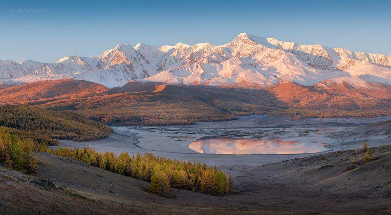пейзаж, алтай, рассвет, джангысколь Рассвет у озера Джангысколь…photo preview
