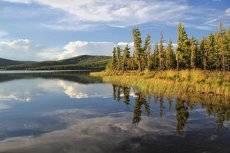 Балыктукёль - рыбное озеро