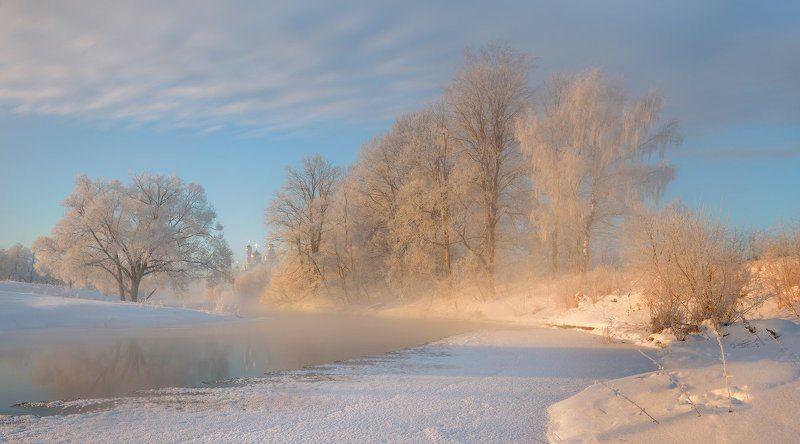 Морозным утром.photo preview