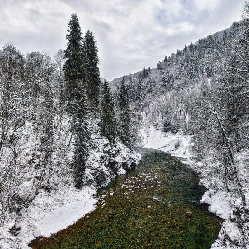 Зима на Большой Лабе...photo preview