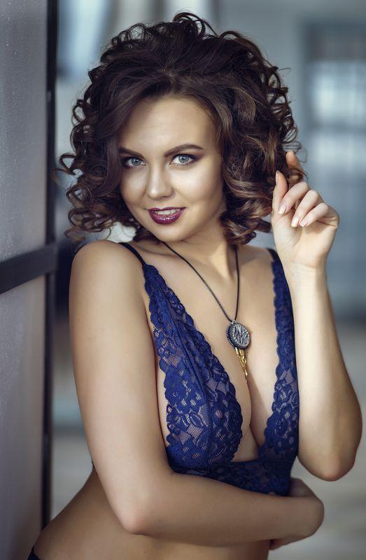 девушка будуар белье Ксенияphoto preview