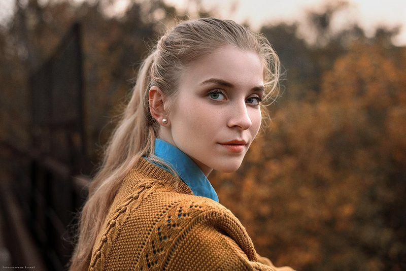 portrait, beauty, beautiful, model, girl, pretty, color, eyes, art, photo, nikon, conceptual, 50mm, dantar90, begmad, портрет, глаза, красивая, взгляд Anyaphoto preview