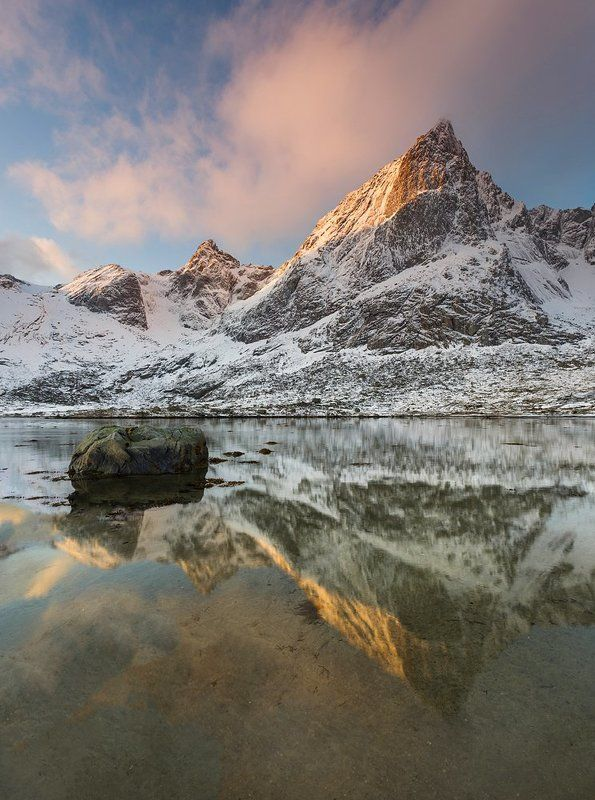 Winter in Lofotenphoto preview