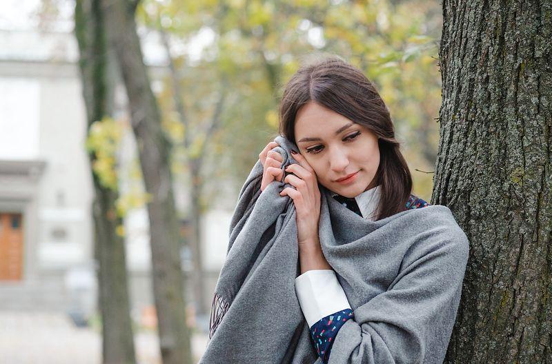 девушка портрет модель осень annromanovska girl portrait beautiful model autumn  Autumn storyphoto preview