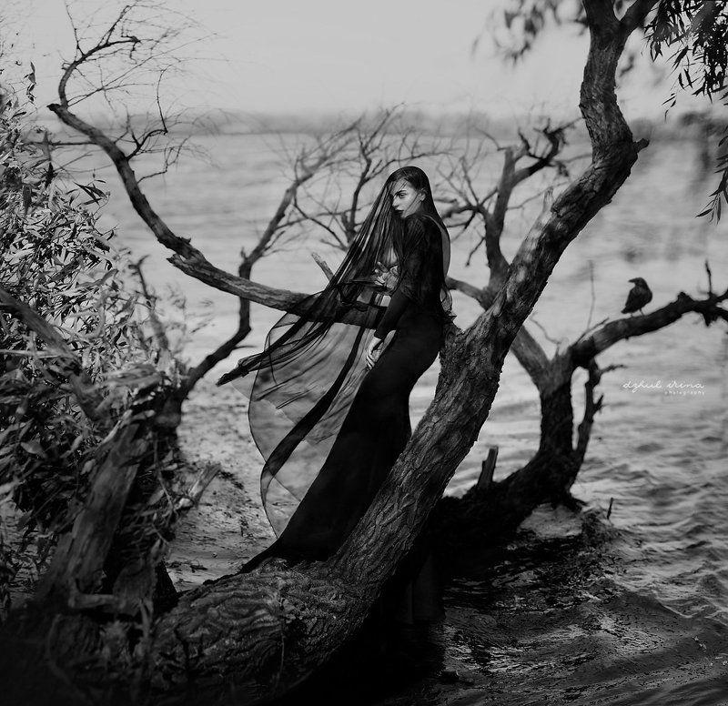 girl Lady ravenphoto preview