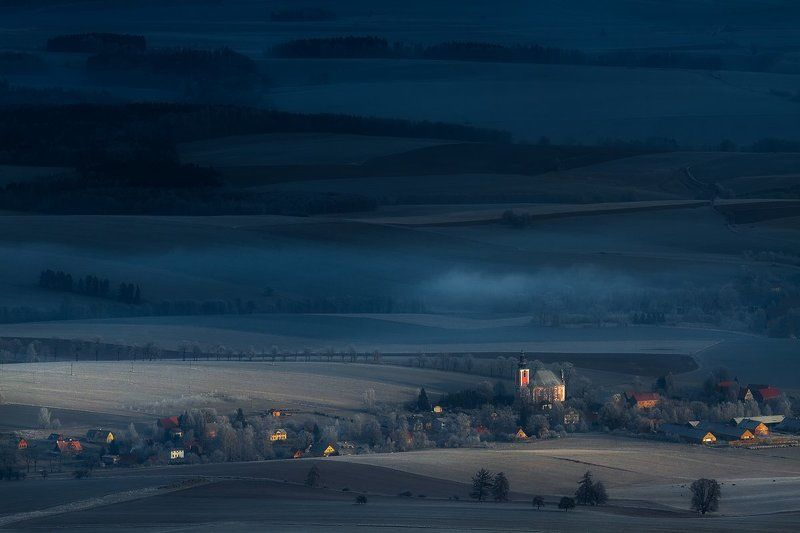 landscape,canon,mist,light,autumn The Darkness Flies Away IIphoto preview