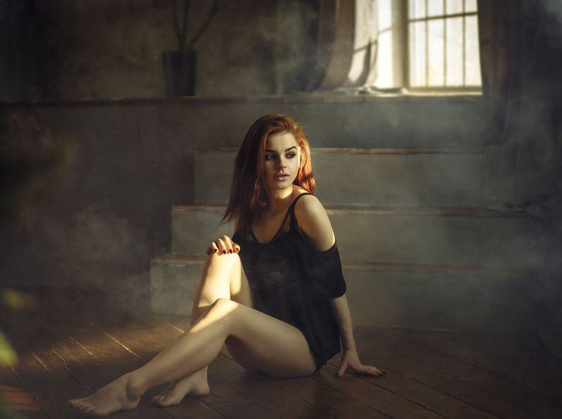 девушка, туман, купальник Татьянаphoto preview