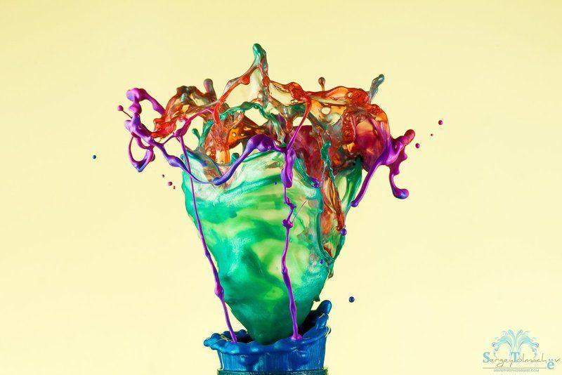 капли, жидкость, макро, арт, всплеск, сергейтолмачев, liquidart, art, liquid Коктейльphoto preview
