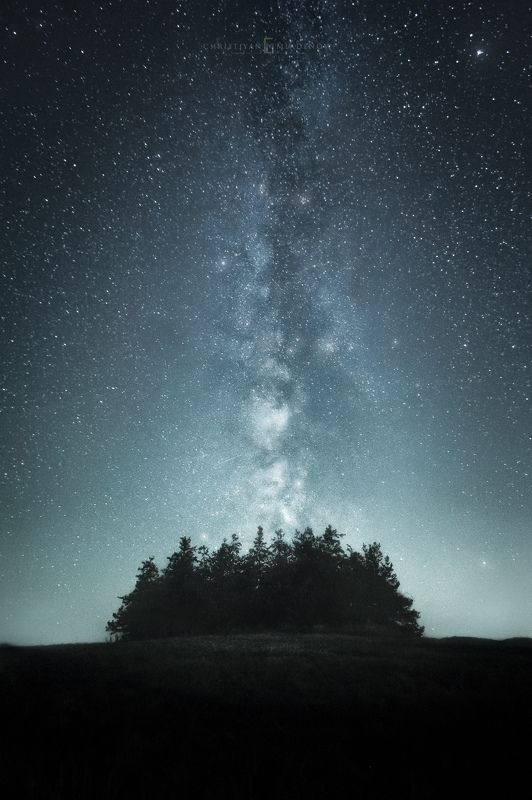 astrophotography, astronomy, galaxy, milky way, nightscape, night, sky, stars, long exposure, nature, bulgaria, space, panorama Alienphoto preview