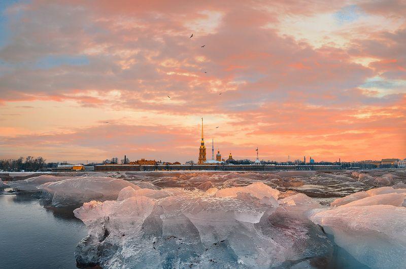 winter, russia, snow, спб, зима, снег, city, sky, небо, город Санкт-Петербургphoto preview