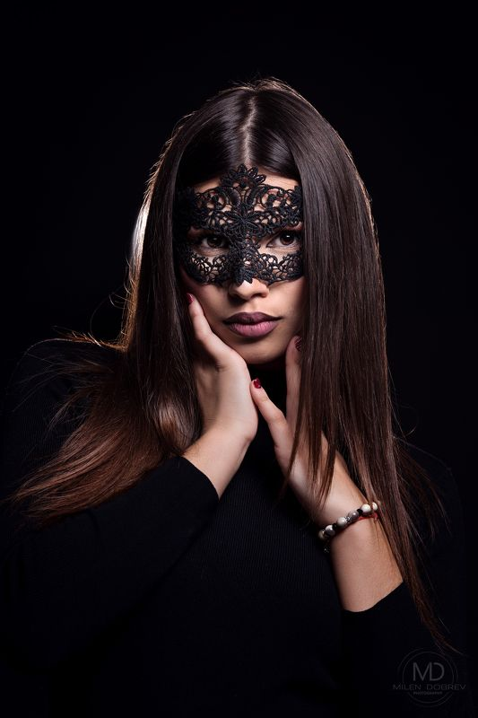 model, mask, beauty ***photo preview