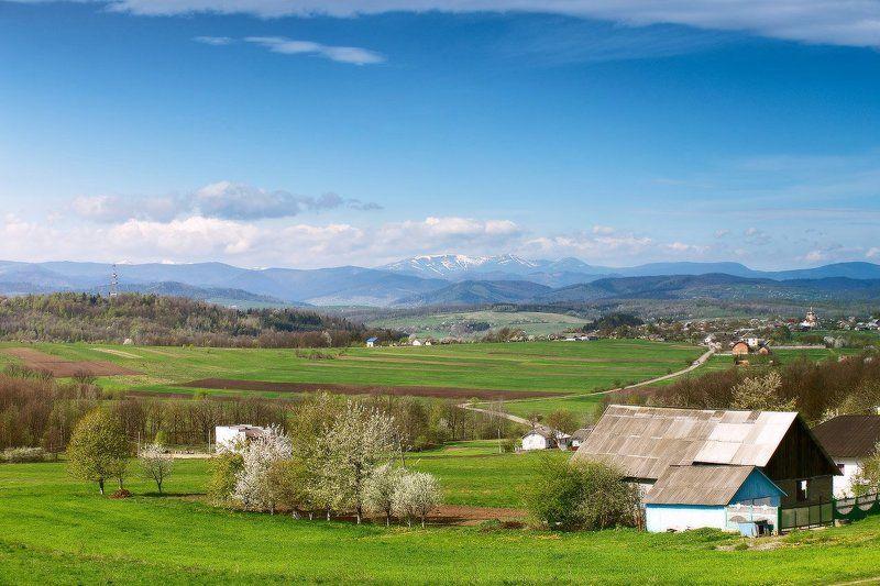 Апрель, Весна, Карпаты весна уже близкоphoto preview