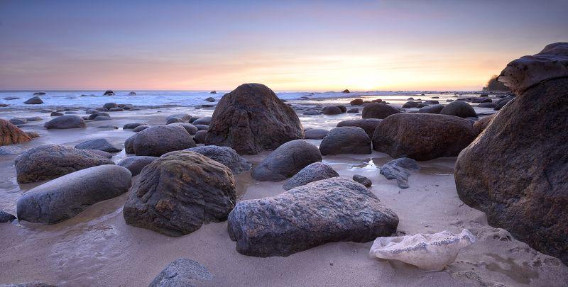 пейзаж зима море латвия Sea of ice 3photo preview