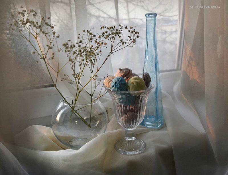 цветное безе стекло гипсофила Про цветное безеphoto preview