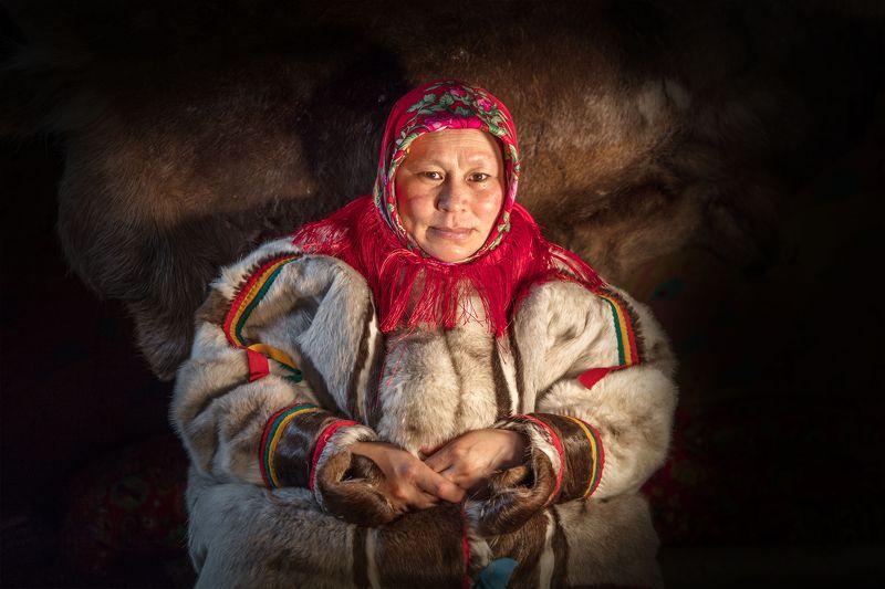Ямал, ненецкая женщина,  Ульяна. Ямалphoto preview