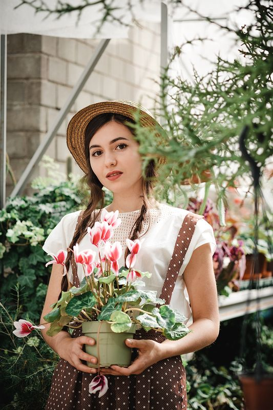 портрет девушка весна модель model portrait art girl spring annromanovska  Spring is comingphoto preview