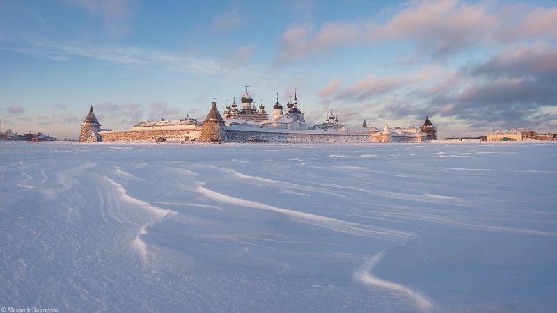 соловки, север, монастырь, фототур Снежный прибойphoto preview