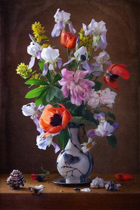 натюрморт, цветы Цветочный натюрмортphoto preview