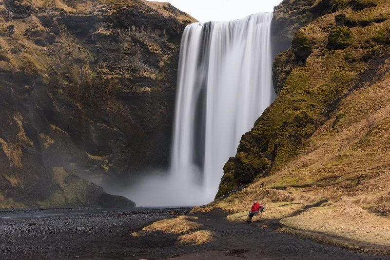 исландия Хочется иногда присесть у воды, подумать о вечномphoto preview