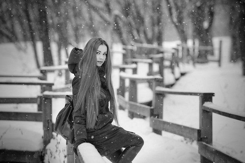 черно-белое  Снежность.photo preview