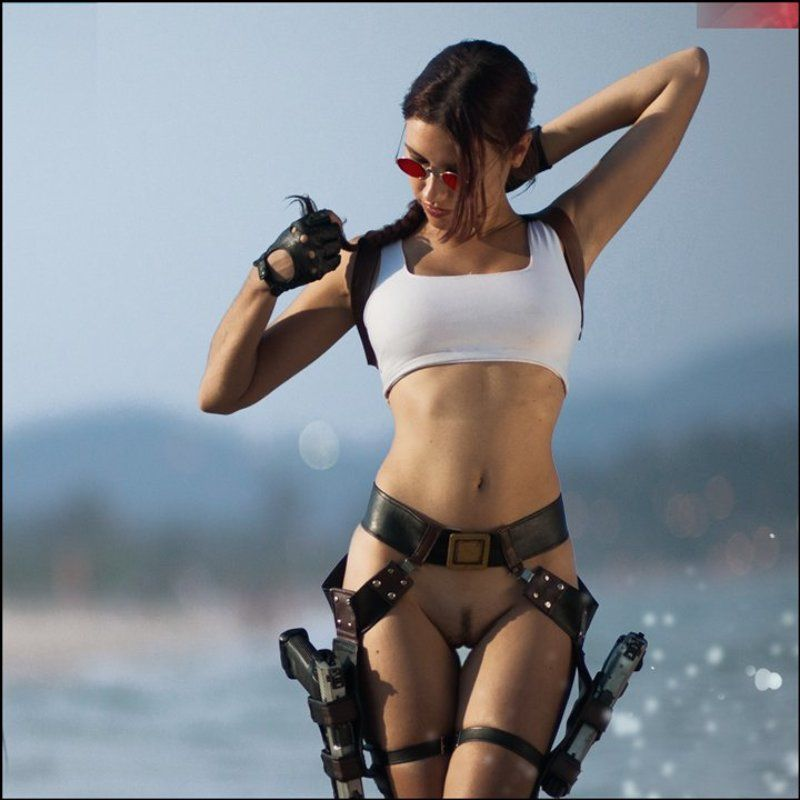 lucas, lucastudio, nude Tomb Raider ©photo preview