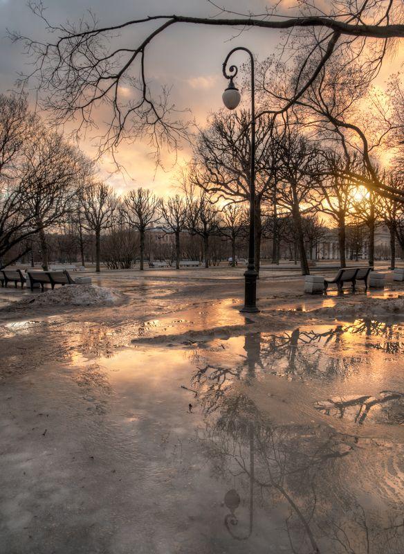 Санкт-Петербург ждет веснуphoto preview