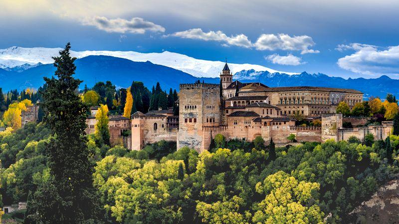 альгамбра, гранада, испания, alhambra, granada, spain Альгамбра (Гранада) - фрагмент.photo preview