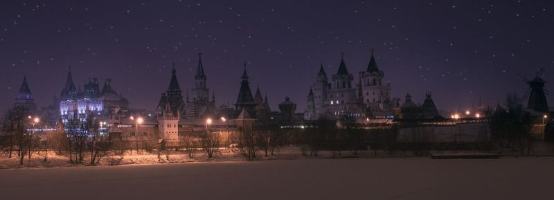 Январь, Москва, Измайлово, Вечер Рождественский кремльphoto preview