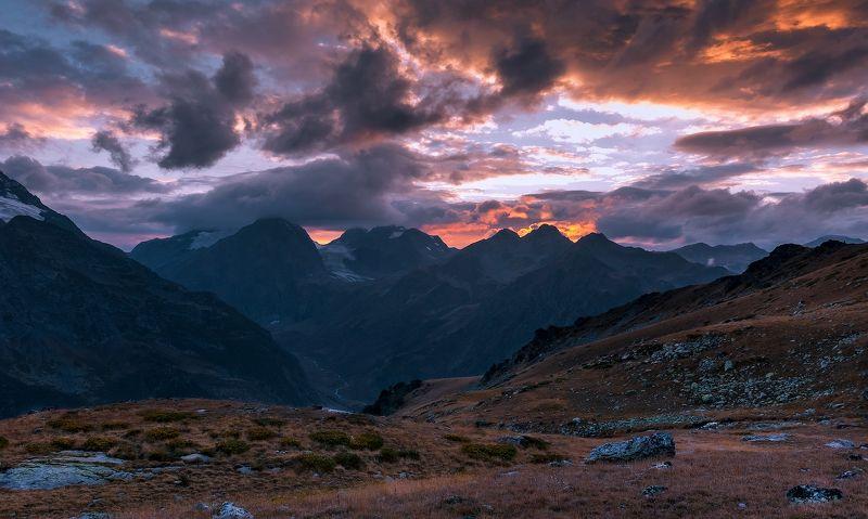 Закат над долиной Псышаphoto preview