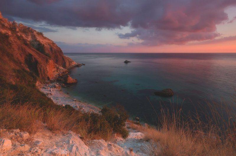 балаклава, закат, крым, мыс айя, пейзаж, севастополь, фиолент, черное море Тропами заката....photo preview