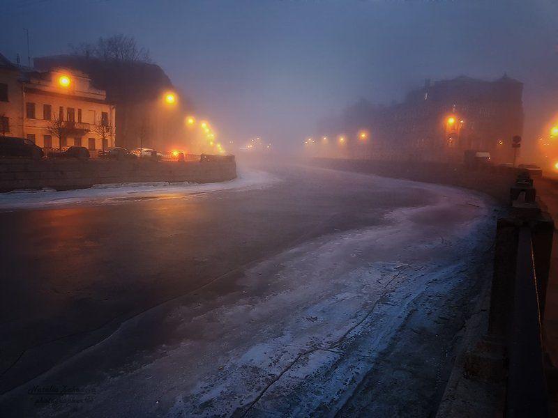 Туман окутал Питер...photo preview