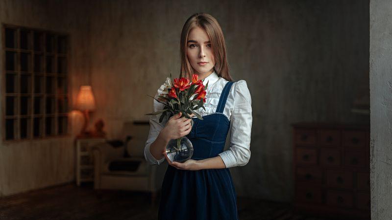 портрет, арт, модель, portrait, art Василисаphoto preview