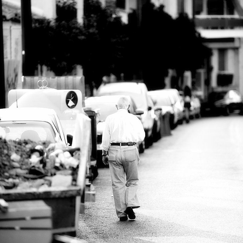 Walking oldphoto preview