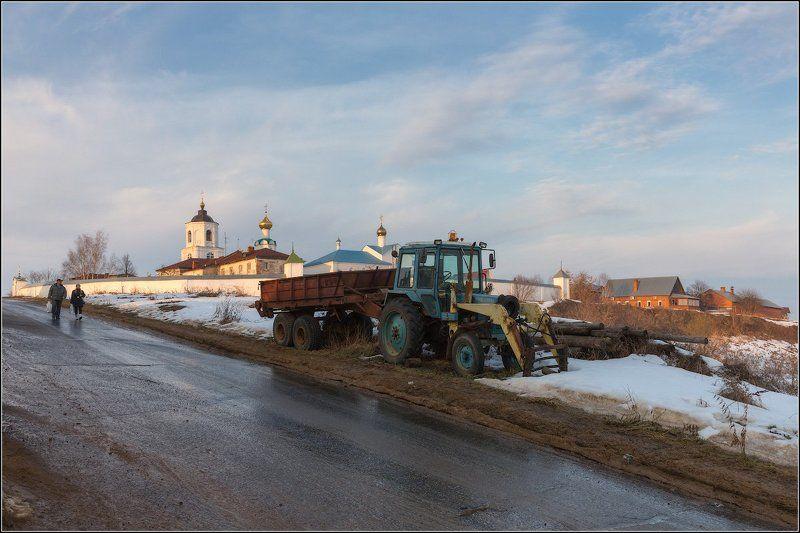 Россия, Владимирская обл, Суздаль По дороге с веснойphoto preview