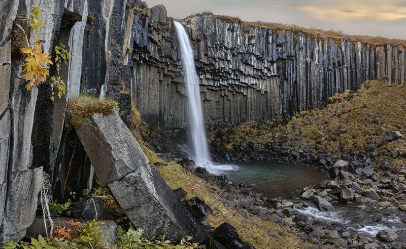 Iceland, svartifoss, исландия Svartifossphoto preview