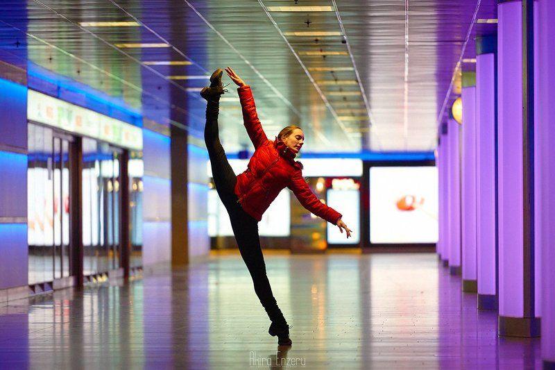ballerina, ballet, dance, dancing, portrait, Zurich HB Stationphoto preview