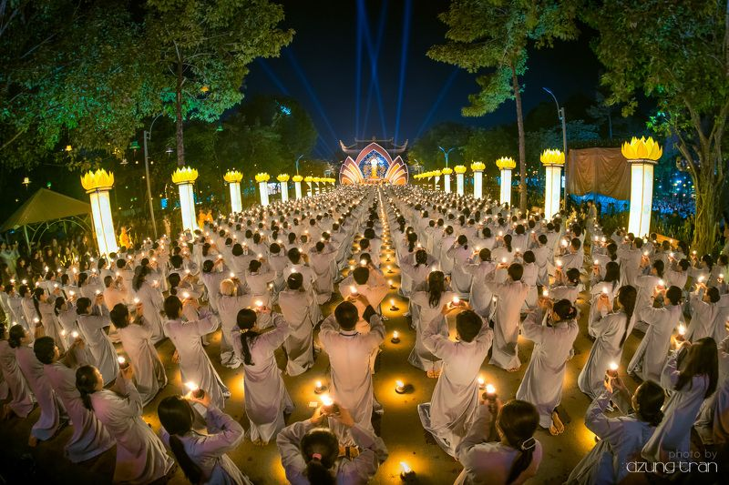 #buddha #celebration #amitabha #vietnam #culture #pray #light Amitabha Buddha celebrationphoto preview