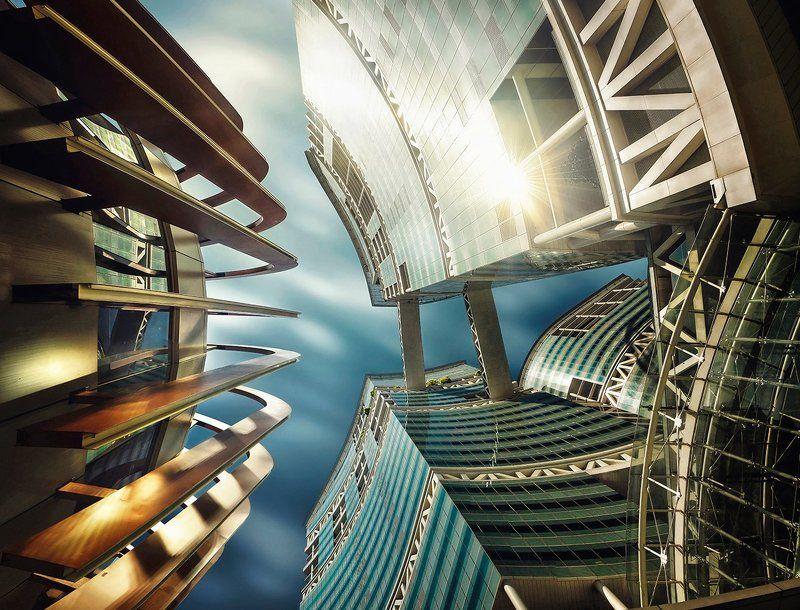 Сингапур, город, архитектура, небоскребы Оптимусphoto preview