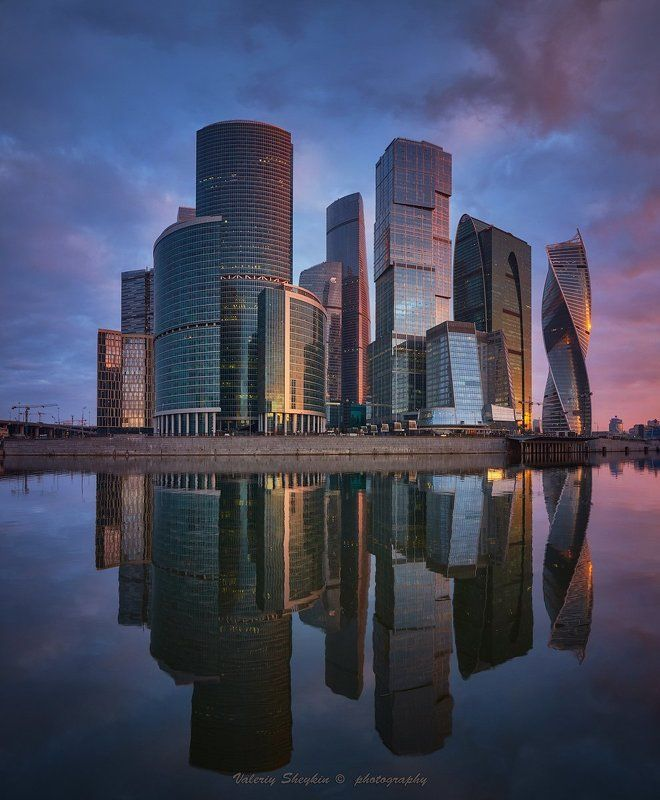Москва-Сити. Рассветноеphoto preview