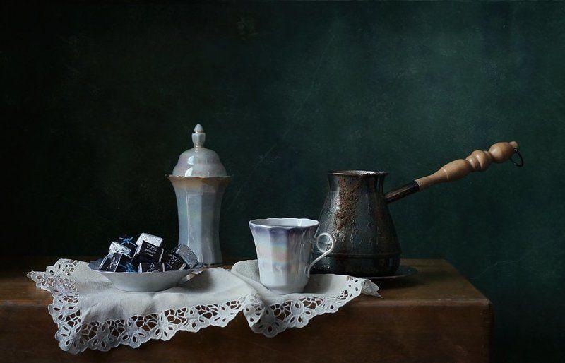 натюрморт, кофе, шоколад Кофе и шоколадphoto preview