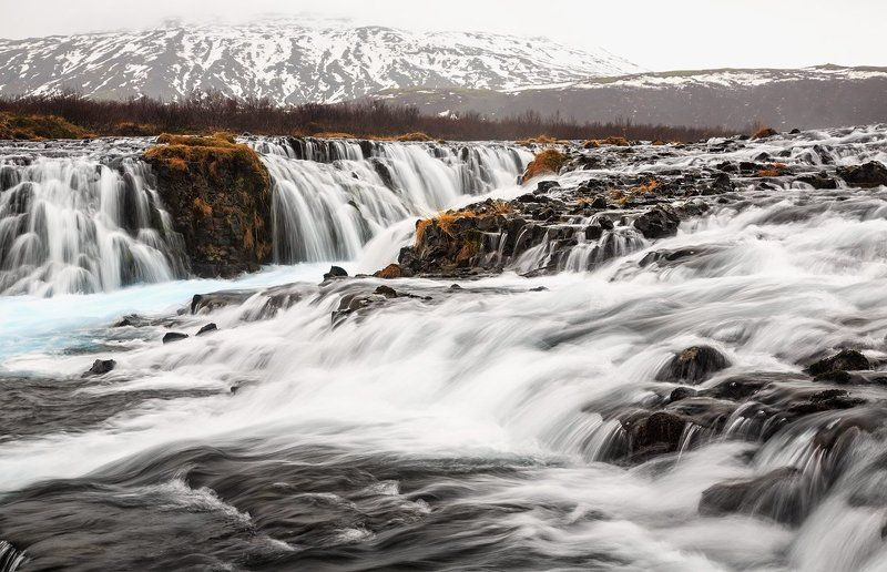 Bruarfoss. Исландия. Bruarfossphoto preview
