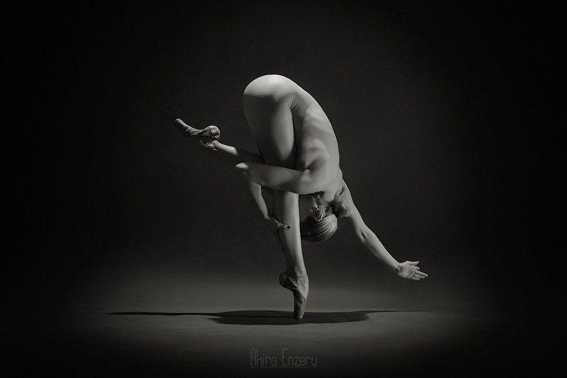 ballerina, ballet, dance, dancing, portrait, nude, Равновесиеphoto preview