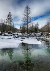 Зима на лавовых озёрах